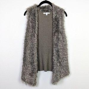 CAbi Fur Front Vest Style 180 Size XS